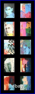 10 Portraits of Jews of the 20th Century (Portfolio of 10) by Andy Warhol