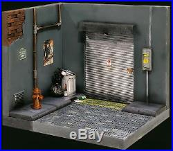112 Scale Handmade Street Diorama Miniature For 6 Inch Figures inc. Accessories