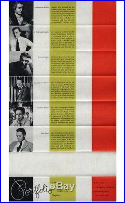 1950 Paul Rand PORTFOLIO Magazine pre-Alexey Brodovitch Promotional Brochure
