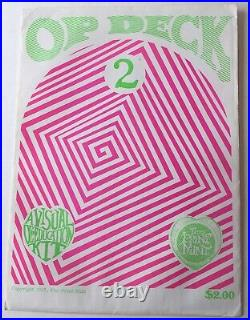 1967 Op Deck #2 Psychedelic Light Show Transparencies By Print Mint