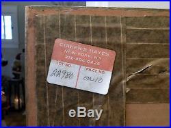 1975 Original SAMUEL BAK Mixed Media Painting PEARS 22 x 29