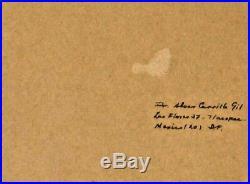 ALVAR CARILLO GIL, Listed Mexico, Original mixed media Collage, 1960