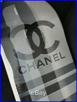 ART Skateboard Deck CHANEL Pill by DENIAL Artist Proof (Brand new)