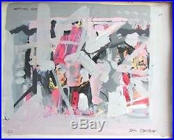 Abstract Painting by Ira Davidoff Mixed media on paper Signed and dated 1960