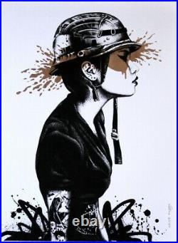 Agent O (bronze) by Fin DAC Hand Finished. Float framed. Ltd Edition #21/25