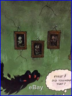 Al Columbia Pim and Francie Original Art Rare, Mixed Media Masterpiece-LOOK