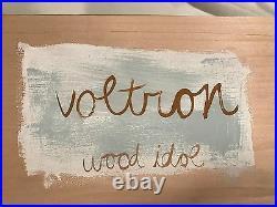Amanda Visell Original Wood Idol VOLTRON BNIB Rare