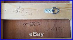 Andy Lakey Stunning Original Mixed Media Painting International Ship OK