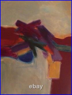 Ann DerGara Original Art Abstract Expressionist 23 x 30 Famous Artwork $910