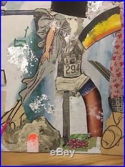 BAST ORIGINAL 3 of 3 (faile kaws banksy fairey paul insect) Graffiti Street Art