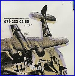 BAST UND EROTIK 2007 Massive 50x38 Inch Classic Faile Banksy era # 1 Of 2