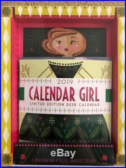 BNIB 2019 Brittney Lee Calendar Girl Disney Beautiful Original Art! New