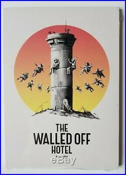 Banksy Walled Off Hotel Boxset + Receipt + Peckham Rock + WOH Postcards + Extras