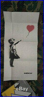 Banksy girl with balloon ALL 11 IN ONE SHOT, London, UK Sotheby's auction catalog