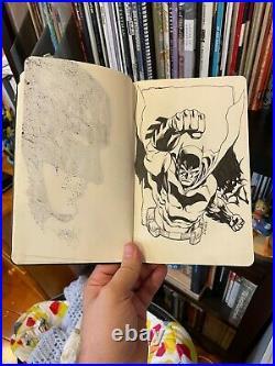 Batman DC Comics Original Art Moleskine Sketchbook (Jim Lee, Tim Sale, Etc)