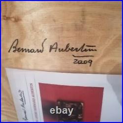 Bernard Aubertin UNIKAT handsigniert datiert ZERO mit Uecker Mack Piene