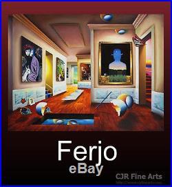 Brand New Release Ferjo Book The World of Ferjo