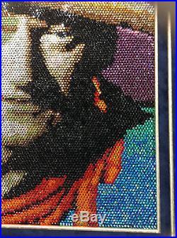 Burkitt & Burkitt John Wayne/Andy Warhol 10,600 Swarovski Crystal Painting
