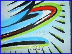 Burton Morris Painting Original Handsigned/handnumbered Great Price
