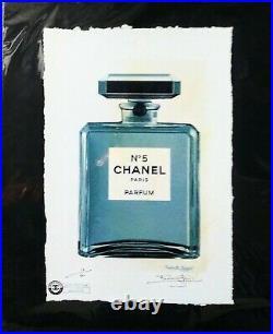 CHANEL No. 5 Bottle, Limited Edition 22'x 15'x Signed Fairchild Paris, BEAUTIFUL