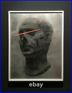 CYRCLE large ORIGINAL PAINTING /no Shepard Fairey, Faile, Tristan Eaton, Banksy