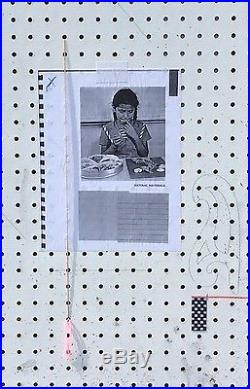California Contemporary Artist Amanda Ross Ho. Signed Mixed Media Piece L/E 9/50