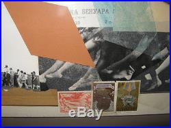 Carolyn Howlett'74 Abstract Collage Russia Spectaculars Listed Chicago Artist