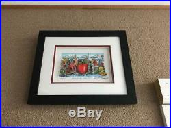 Charles Fazzino 3D Artwork Blue Skies Over New York Deluxe Edition Signed Blue