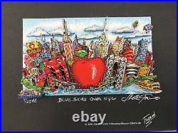 Charles Fazzino 3D Artwork Blue Skies over New York AE Deluxe Edtion Signed
