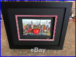 Charles Fazzino 3D Artwork Blue Skies over New York Deluxe Edtion Signed