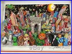 Charles Fazzino 3D Artwork Ghost Good Times and Gridlock Signed & Numbered DX
