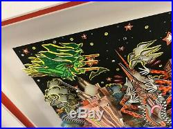 Charles Fazzino 3D Artwork Ghosts Good Times and Gridlock Signed & Numbered