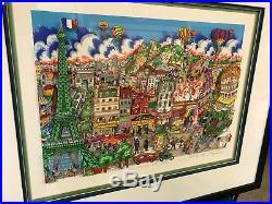 Charles Fazzino 3D Artwork La Joe de Via Paris Signed & Numbered