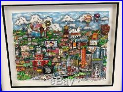 Charles Fazzino 3D Artwork Make It Detroit Signed & Numbered Framed Deluxe