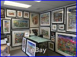 Charles Fazzino 3D Artwork Makin Our Way Downtown Signed & Numbered