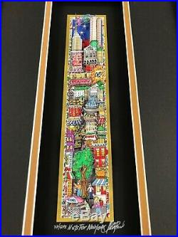 Charles Fazzino 3D Artwork Nuts For New York Signed & Numbered PR Edition