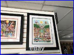 Charles Fazzino 3D Artwork Perfectly Palm Beach Deluxe Signed & Numbered