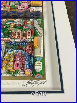 Charles Fazzino 3D Artwork Rich On Real Estate Premier Ed. Signed & Numbered