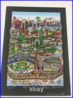 Charles Fazzino 3D Artwork Take The B-Train To Brooklyn Signed & Numbered PR