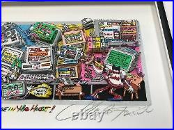 Charles Fazzino 3D Artwork There's A Mouse in the House Signed & Numbered DX