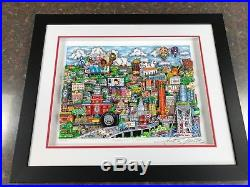 Charles Fazzino 3 D Artwork Make It Detroit Signed & Numbered Deluxe