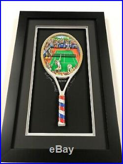 Charles Fazzino 3 D Artwork Point Game-Set-Match! Signed & Numbered PR Ed