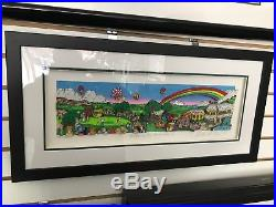 Charles Fazzino A Hole In One Behind Bush 13 3-D Art Signed & Number Deluxe