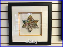Charles Fazzino A Star of Hope 3-D Art Signed & Numbered Framed