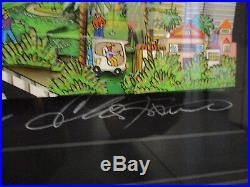 Charles Fazzino Along the Pacific Coast Highway 3D Art Signed Number 94/100 PR