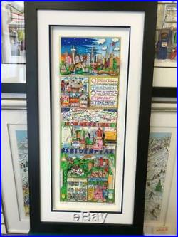 Charles Fazzino An Atlantic City Summer 3-D Art Signed & Numbered DX Edition