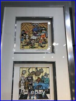 Charles Fazzino Hanna Barbera Flintstones Jetsons Tom Jerry Looney Tunes