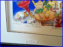 Charles Fazzino Hanna & Barbera SIGNED Jetsons Flintstones Las Vegas Artworks