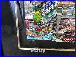 Charles Fazzino Manhattan Will Make You Feel Brand New. 3-D Artwork Signed