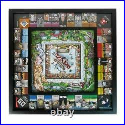 Charles Fazzino New York Monopoly Sold Out Edition Signed and Numbered
